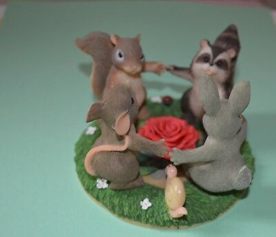 """Charming Tails """" Ring Around the Rosie """" By FITZ AND FLOYD -"""