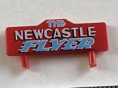 1 X Lima The Newcastle Flyer Name Board In OO/HO Scale *Rare*