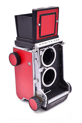 Mamiya C22 Replacement Skin Cover - Laser Cut Recycled Leather