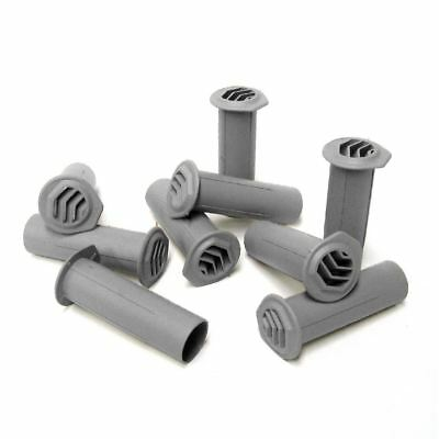 5 x Grey Drill Weep Vents Round Vent Cavity, Rendered Walls, Retaining Wall