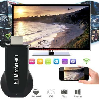 MiraScreen WiFi Display Dongle Receiver 1080P AV DLNA Airplay Miracast HDMI BE