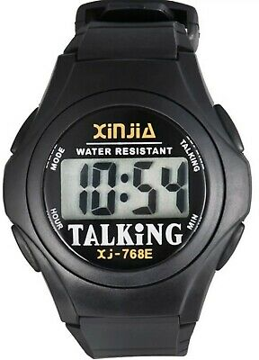 Pack Of 2 Speaking English Talking Wristwatch watch WITH 5 YEARS BATTERY FREE