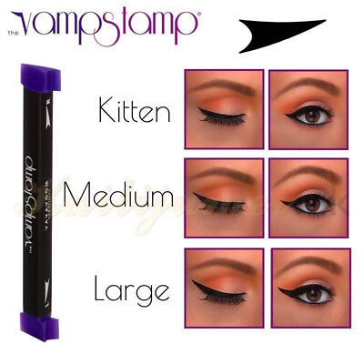 Vamp Stamp Winged Wing Black Eyeliner UK Stock Flat pack
