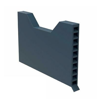 50 x Brick Weep Vents Blue / Black Ventilation Cavity Wall Vent Garden Wall
