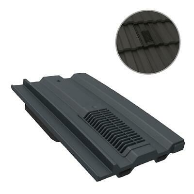 Grey Mini Castellated Roof Tile Vent / Marley Ludlow Plus Redland Sandtoft