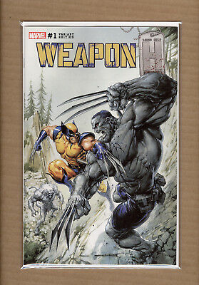 Weapon H #1 Clayton Crain Secret Variant Nm+
