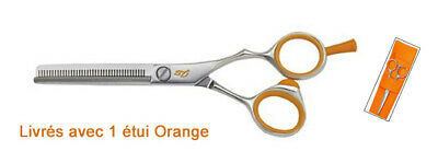 DESTOCKAGE - Ciseaux sculpteurs Hair Cut 5,5 orangeCiseaux sculpteurs Hair Cut 5