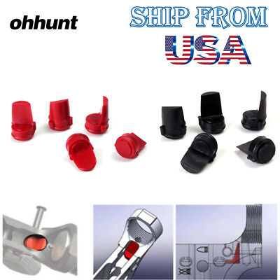 Ohhunt 5 PCS Accu Wedge 223/556 Rubber BLACK RED Free Shipping