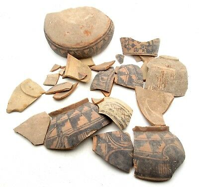 INDUS VALLEY TERRACOTTA POTTERY FOR RESTORATION - l622