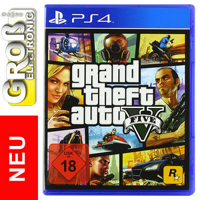 Grand Theft Auto V PS4 Playstation 4 GTA 5 NEU 18 OVP Deutsche Version DE uncut