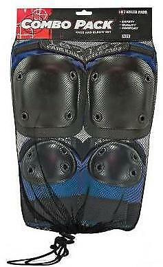 NEW 187 Adult Combo Pack Blue (Knee & Elbow)