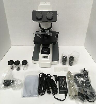 National DC3-163 Digital Microscope w/ Built in Digital Camera DMB2-223 MINT!