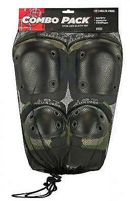 NEW 187 Adult Combo Pack Camo (Knee & Elbow)