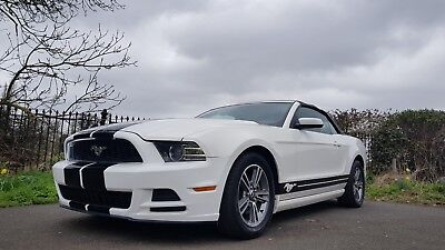 Immaculate Sport Ford Mustang 2013 3.7L Convertible White In Stunning Condition
