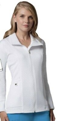 Grey's Anatomy 2411 Quilted 2 Pocket Jacket White Brand New With Tags XS