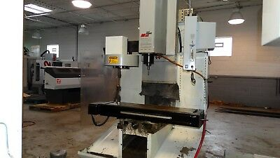 Used Haas TM-1 CNC Manual Vertical Machining Center Mill CT40 10 Station ATC '01