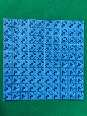 Widespread Panic Blue Blotter Art Acid Free 900 Squares Perforated High Quality