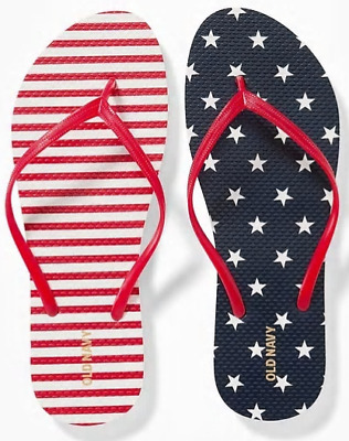 1dea914192d736 NWT WOMENS OLD Navy(NEW ARRIVAL)Pink Flamingo Flip Flop Sizes 7