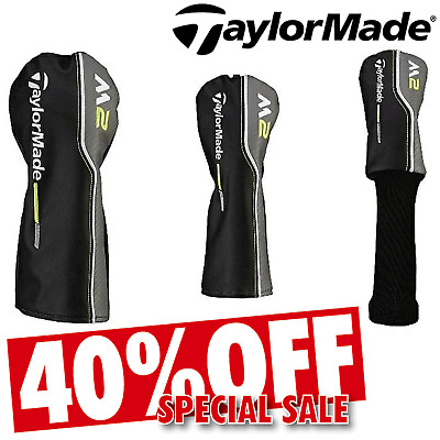 Taylormade Head Covers M2 2017 Golf Head Cover Driver Fairway Hybrid Covers New