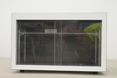 "Atomic Products Table Top Lab Cabinet w/Sliding Doors 16"" X 8"" X 10"" (15350 D22)"