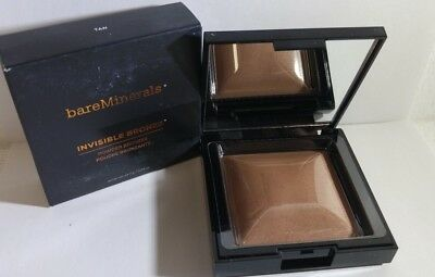 BareMinerals Invisible Bronze Powder Bronzer Tan 0.24oz/7g NEW IN BOX