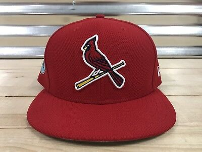 New Era 59FIFTY St. Louis Cardinals Fitted MLB Baseball Hat / Cap Red