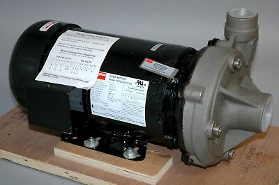 Dayton PP2LTAG23TCG Pump Motor with 2ZXL6 STAINLESS STEEL 3 HP CENTRIFUGAL PUMP