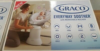 Graco Baby Everyway Multi Use Swing Soother w/Removable Rocker Josephine NEW