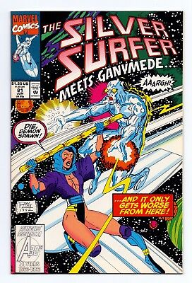 Marvel Comics: Silver Surfer #81 & #82 - Both Issues!