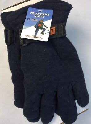 Diamond Visions Universal Fleece Cold Weather Gloves 1 Size Fits All