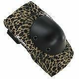NEW Smith Scabs Elite Elbow Brown Leopard Pads