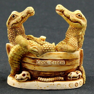 Harmony Kingdom: Croc Pot, TJAL2/ Made in England 1997