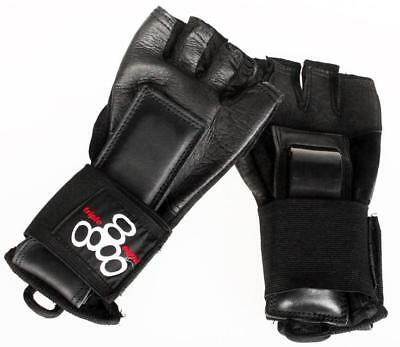 NEW Triple 8 Hired Hands (Full Leather Gloves)