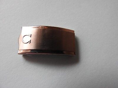 NEW OLD STOCK VINTAGE OMEGA STAINLESS STEEL CLASP 33mm LONG 16mm INT/WIDTH