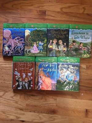 7 Hardcover Magic Treehouse Book Lot