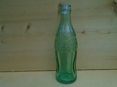Vintage Old Coca Cola Green Bottle 6 Oz Alexandria Va. (Nice)