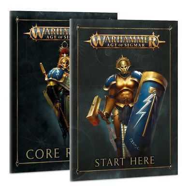 Preorder Warhammer Age of Sigmar Soul Wars Paperback Book Set core rules etc