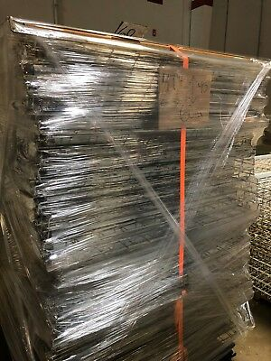 "Pallet Rack Wire Mesh Deck 47.5"" x 45 Silver, 101 Available, Used"
