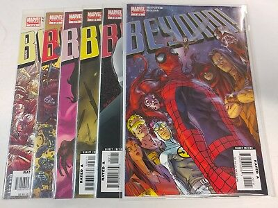 Spiderman Comic Lot Beyond with Venom Spiderman 1 2 3 4 5 6  NM Bagged Boarded