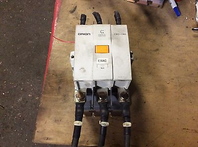 Cerus Industrial Orion Contactor CRC-180, coil 100-240vac, 100-220vdc