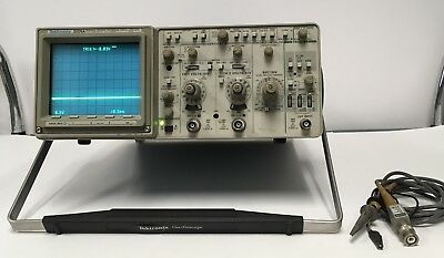 Tektronix 2221A Dual Channel 100Mhz Oscilloscope W/Option 12 And 1 Probe TESTED