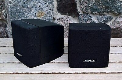 Paar BOSE Single Cube Einzelcube Acoustimass 6 10 V10 V20  Lifestyle 20 25 50