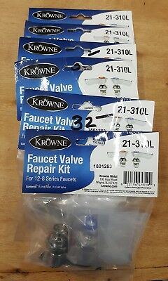 "Krowne 21-310L Repair Kit for Commercial Series 8"" Center Faucets - 12-8 Series"