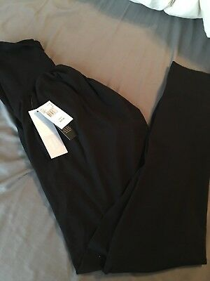 motherhood maternity leggings large