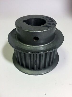 """P26-8M-30X1 HTD Pulley, 8mm Pitch, 26Teeth, 30mm Belt Width, 1"""" Bore, Used"""
