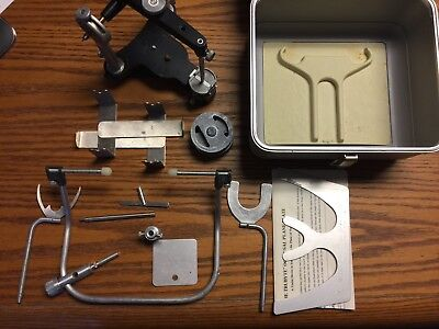 Hanau Dental Articulator W/ Facebow and Accessories.