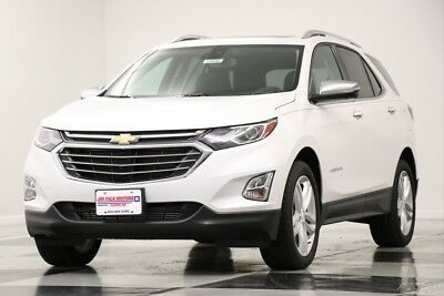 Chevrolet Equinox Premier AWD  Heated Cooled Leather Sunroof  Naviga 2018 Premier AWD  Heated Cooled Leather Sunroof  Naviga New Turbo 2L I4 16V AWD