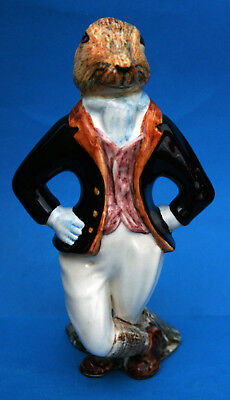 """Rye Cinque Ports Pottery Country Gentleman Figure """"hugo Hare"""""""