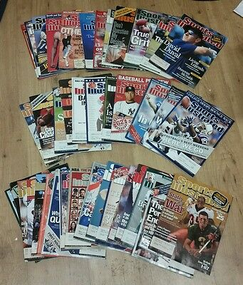Sports Illustrated 2000s  (lot of 40) Box #21