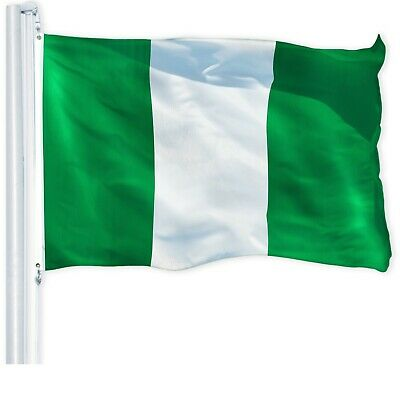 G128 - 3x5ft Nigeria Flag Nigerian National Banner Country Flags 150D  Polyester